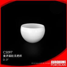 schönes Design aus China elegante Porzellan Tassen kein handle