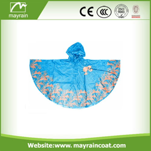 Poncho with Printing Logo