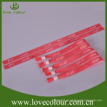 Pulseras de seda del wristband de la manera de encargo barata / wristbands en bulto