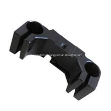 Black POM CNC machined part