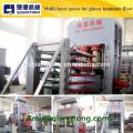 Mehrschichtige Heißpressmaschine für hochglänzende Laminatfußböden