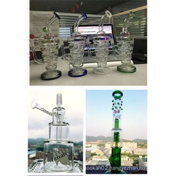 2015 Hot Selling Hitman Cup Cup Glss Water Pipe Two Size Avaliable Custom OEM Welcome Smoking Glass Waterpipe