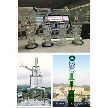2015 Hot vendendo Hitman Cup Copa Glss Tubo de Água Dois Tamanho Disponível Custom OEM Bem-vindo Smoking Glass Waterpipe
