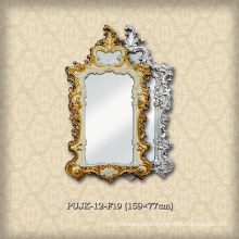 European Decorative PU Mirror Frame for Washroom