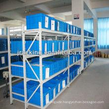 China Nanjing Jracking Step Beam/Wire Mash Hand-stack shelving for medium to heavy loads Long Span Shelving Racking