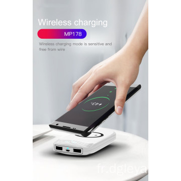 Chargeur sans fil Power Bank 18000mAh Dual USB