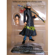 2016 Hot Sale japonesa Anime personalizado Mini One Piece Action Figure