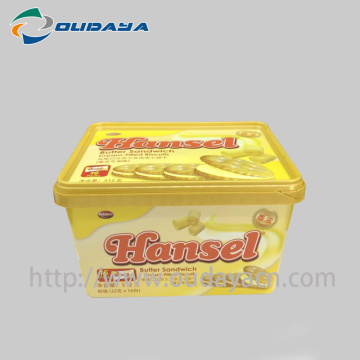 IML container Food Grade Plastic Box