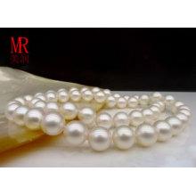 7.5-8mm weiße Southsea Perlenkette