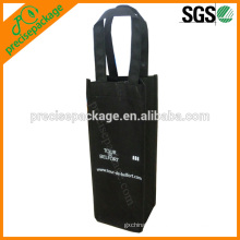 China eco-friendly solid non woven Wine Dispenser Reusable bottle Bag