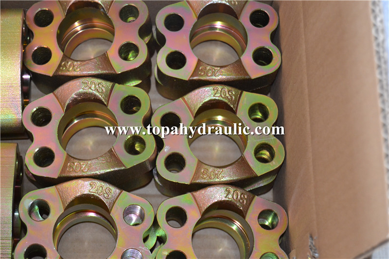 press sealing high pressure hydraulic fittings