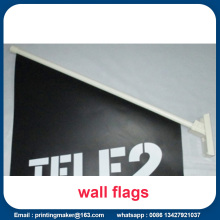 Custom Wall Vinyl Flags for Promotion