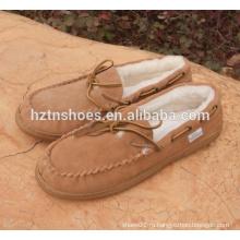 Мужская повседневная обувь зимняя обувь из мокасина