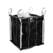 100% Virginal PP FIBC Bolsa Jumbo para Negro de Carbono