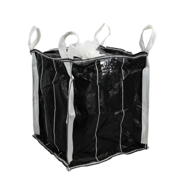 Selbststehende Massenbeutel Carbon Black Big Bag