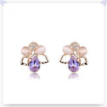 Cristal jóias acessórios de moda brinco de liga (ae449)