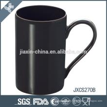 10 oz X 'mas design preto grés caneca de porcelana canecas de café