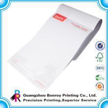 Impresión de membrete de papel de empresa de diseño personalizado en China