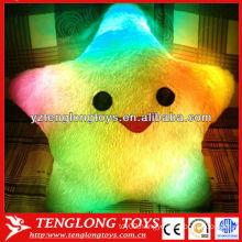 New Style Lovely Star Plush LED Pillow