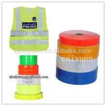 CY Sew on Garment Colorful Safety Reflective Ribbon Tape Wholesale