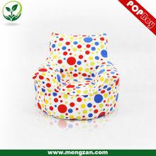 Bolso colorido del grano del juego de los cabritos silla 100% del bolso del grano de algodón