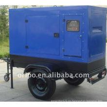 Conjunto de generador de remolque de marca de China con todo el mundo mantener el servicio OEM fábrica