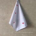 plain cotton  high quality microfiber print hand towel luxury custom logo