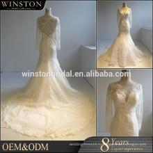 OEM фабрики Китая линии длинные свадебные платья