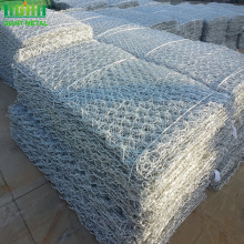PVC+coated+hexagonal+galvanized+stone+cage+gabion+mesh