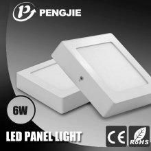 SMD2835 ADC12 Alumínio 6W Surface LED Light Panels