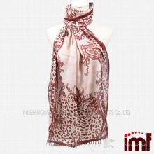 Leopard Paisley Printing Модный шарф для кашемира