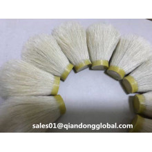 High Density 24mm White Horse Hair Knot