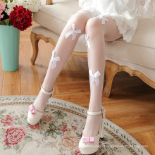 Hot drill lace pearl handmade point drill bead T file core silk stockings iris tights sexy stockings women pantyhose
