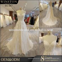 Популярные продажи Саудовской Аравии свадебное платье сделано в Китае