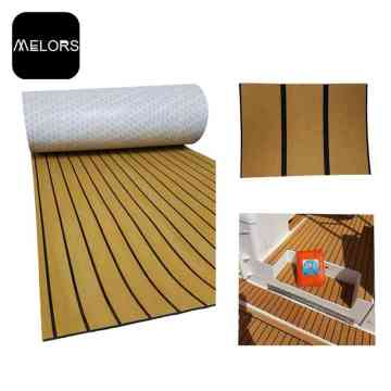 EVA Faux Teak Sheet Soft Boat Flooring