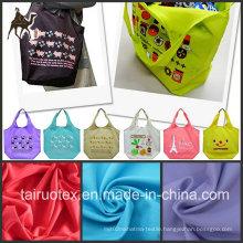 100% Nylon Taslon Fabric for Bag Fabric and Garment Fabric