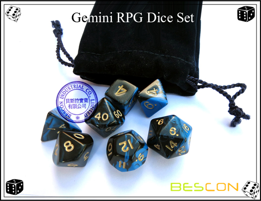 Gemini RPG Dice Set