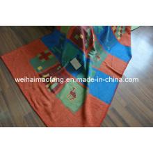 Cotton Throw/Cotton and Acrylic Throw
