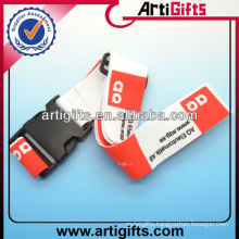 Custom polyester luggage belt strap