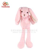 Cute Pink Long Ear Bunny Rabbit peluche de juguete