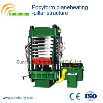 Pillar Structure Pocyform Planeheating Vulcanizer/Press