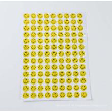 Kunst-dekorative Art und Weise scherzt Harz-freien Druck-Epoxidharz-Aufkleber, kundenspezifischer Hauben-Aufkleber der Epoxid-3D