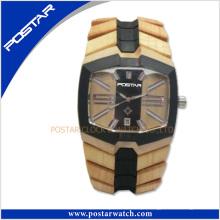 Venda quente 2016 Elegante Relógio De Presente De Madeira Dos Homens Novos Chegada Lazer Relógios De Pulso
