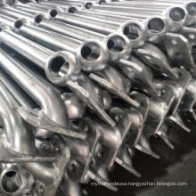 Webforge Type Galvanized Ball Joint Stanchion for Fence and Handrail