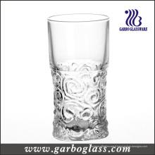 Gobelet en verre à motif gaufré 9 oz (GB040109G)