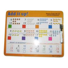 Big White board com marcador (Número calculado), tinta acrílica