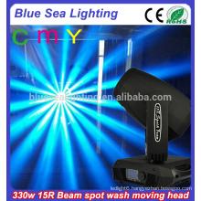 15r 330w 3in1CMY wash spot beam sharpy moving head light