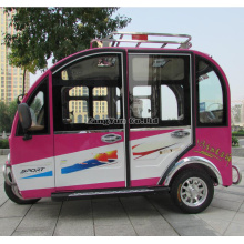The Fully Enclosed Electric Tricycle, Old Car Instead of Walking