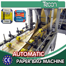 A melhor qualidade 25kg saco de papel de Kraft 50kg que faz a maquinaria