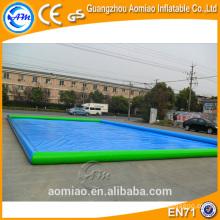 2016 maior piscina inflável retangular, quadrado piscina inflável